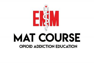 mat course - opioid addiction education course
